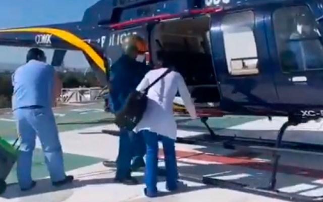 #Video Cóndores de la SSC realizan primer traslado de 2021; transportaron hígado a Guadalajara, Jalisco - Por primera vez, condores de la SSC trasladan hígado humano que fue trasplantado a paciente en Guadalajara, Jalisco. Foto Captura de pantalla