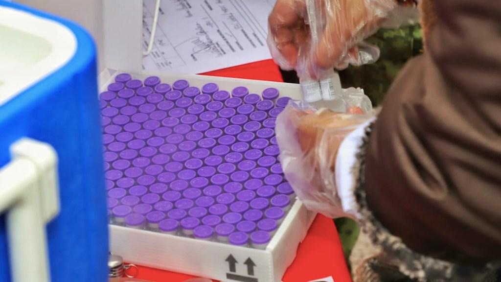Se debe denunciar cualquier uso político de la vacuna contra el COVID-19, asegura López-Gatell - AstraZeneca envía a México principio activo de vacuna para producir vacuna contra COVID-19Foto de Secretaría de Salud de Tamaulipas