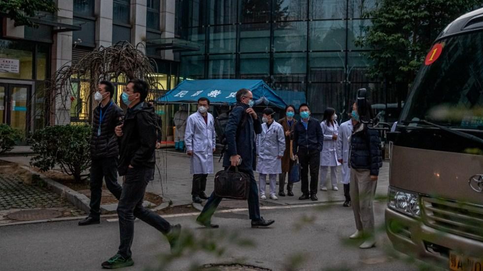 Misión de la OMS para buscar el origen del SARS-CoV-2 comienza a abandonar China - Foto de EFE