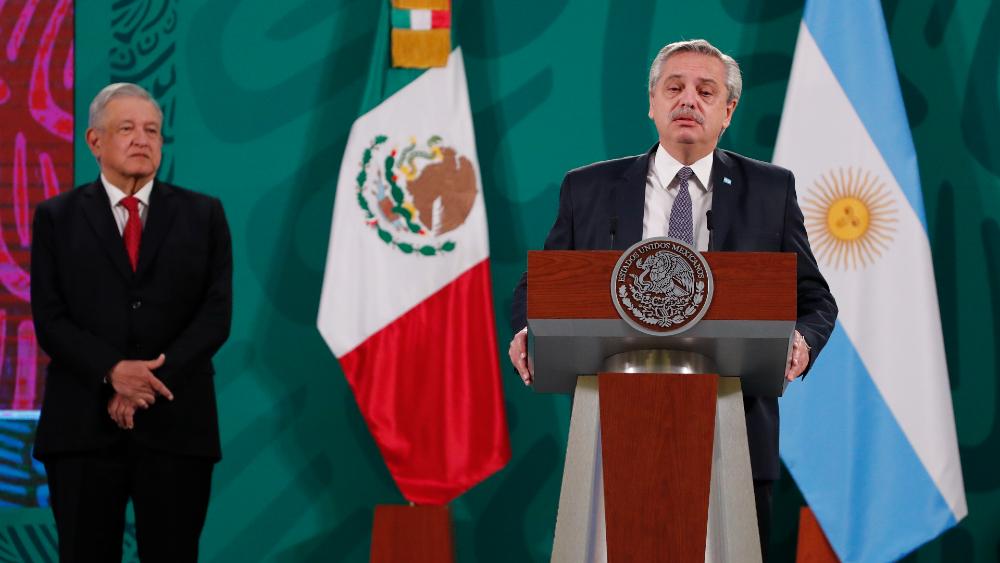Con López Obrador, México tiene un presidente como se merece: Alberto Fernández - Foto de EFE