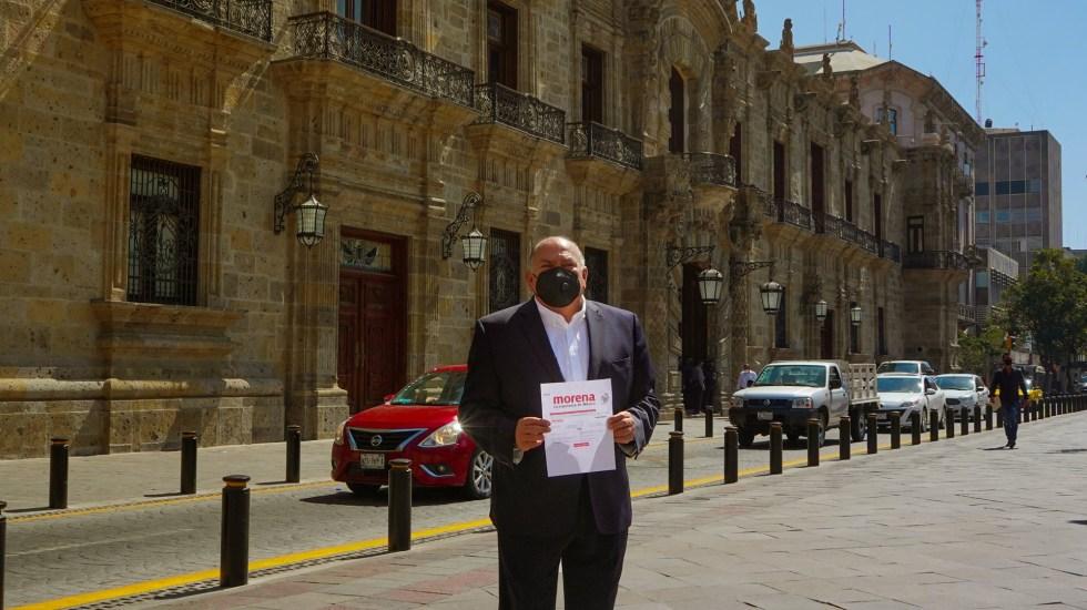Padre de 'Checo' Pérez buscará alcaldía de Guadalajara con Morena - Antonio Pérez Garibay. Foto de @APerezGaribay