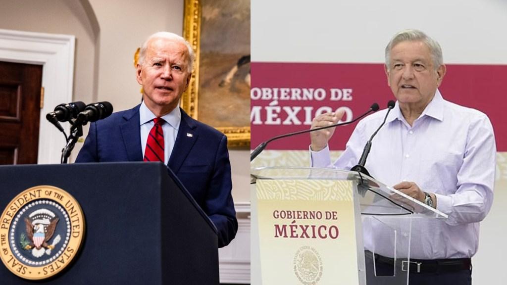 Reunión virtual entre AMLO y Biden, este lunes al mediodía - Joe Biden y Andrés Manuel López Obrador. Foto de EFE / lopezobrador.org