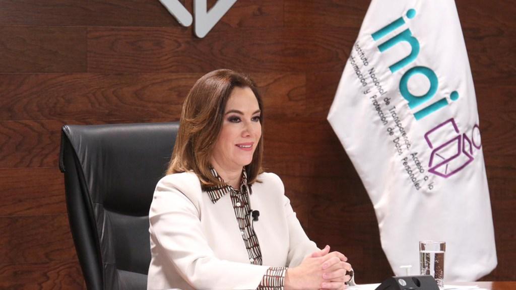 Organismos autónomos no nacieron para ser cómodos al poder: Inai - Blanca Lilia Ibarra, comisionada presidenta del Inai. Foto de @bl_ibarra