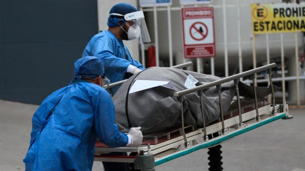 En las últimas 24 horas, México registró 13 mil 209 casos y mil 496 muertes por COVID-19 - Foto de EFE