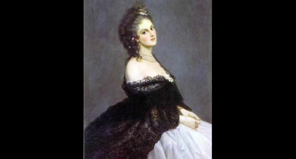 """La condesa de Castiglione, la espía y """"femme fatale"""" que ayudó unir a Italia - Retrato de Virginia Oldoini, la condesa de Castiglione. Pintura de Michele Gordigiani/dominio público"""
