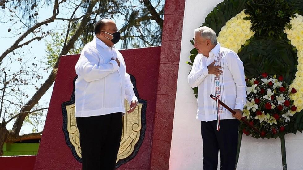Arrancan festejos por bicentenario de la Independencia de México - Conmemoración Vicente Guerrero Independencia México 2