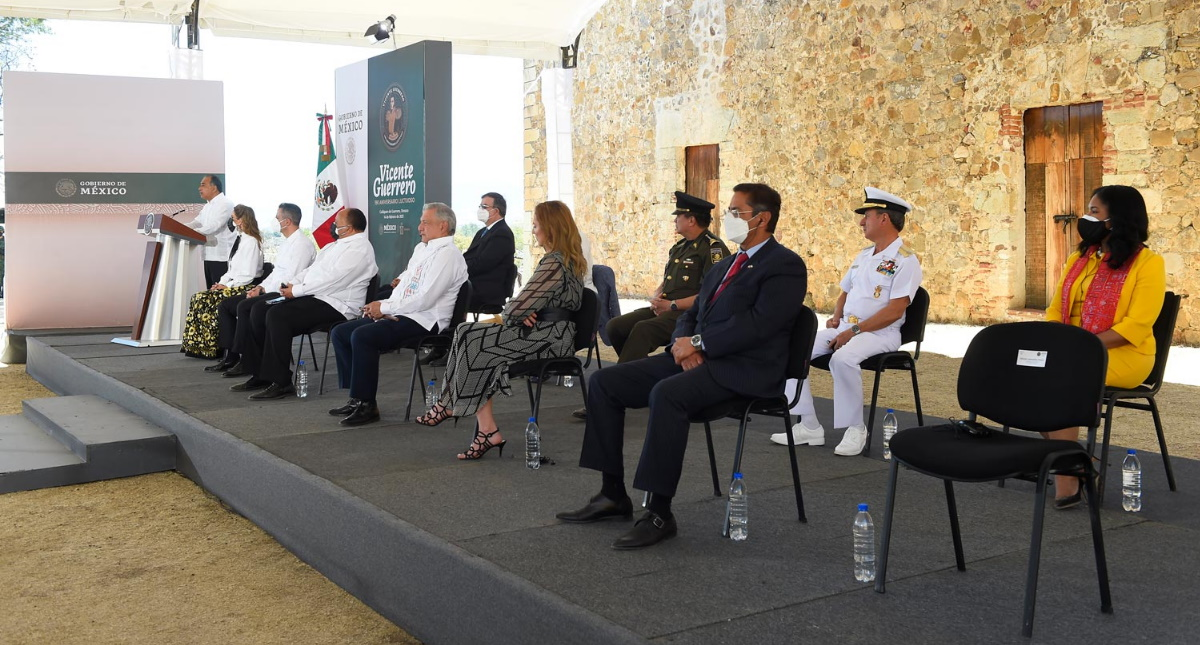 Conmemoración Vicente Guerrero Independencia México 2