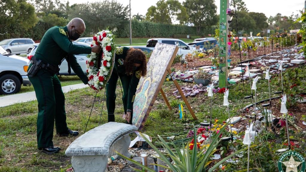 Parkland conmemora a las 17 víctimas de tiroteo en escuela secundaria - Evento para conmemorar la muerte de 17 estudiantes en Parkland, Florida. Foto de @browardsheriff