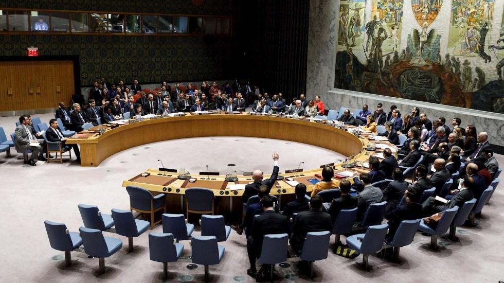 Consejo de Seguridad de la ONU adopta resolución impulsada por México que exige equidad en acceso a vacunas contra COVID-19 - Foto de archivo del Consejo de Seguridad de las Naciones Unidas en Nueva York. Foto de EFE/Justin Lane.