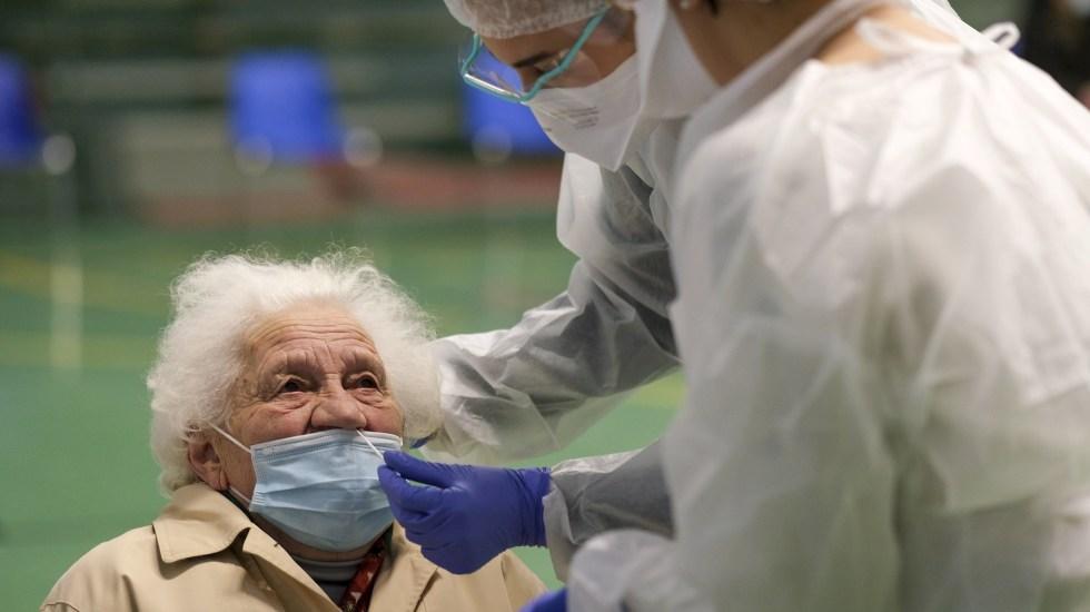 Francia registró el domingo 19 mil 715 casos nuevos y 171 muertos por COVID-19 - COVID-19 Francia coronavirus prueba testCOVID-19 Francia coronavirus prueba test