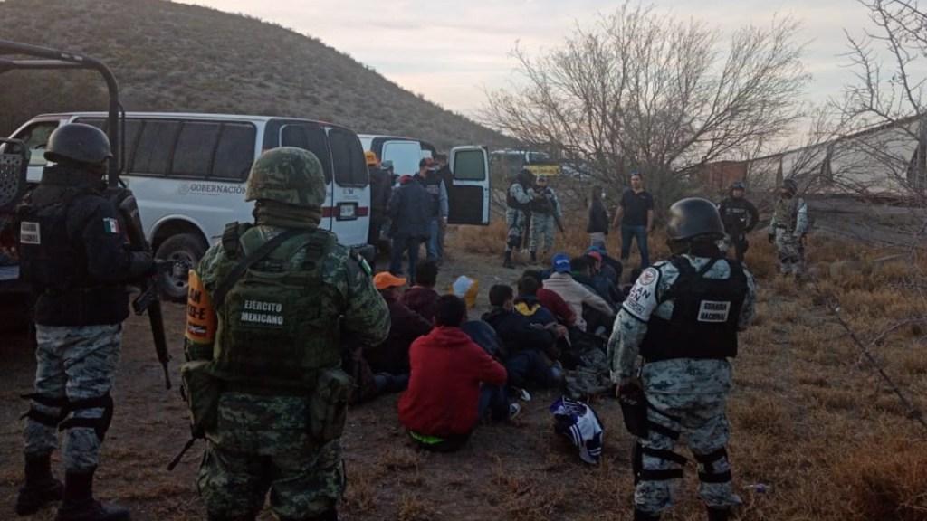 Durante enero, EE.UU. y México deportaron a cerca de 4 mil migrantes hondureños - Foto de INM