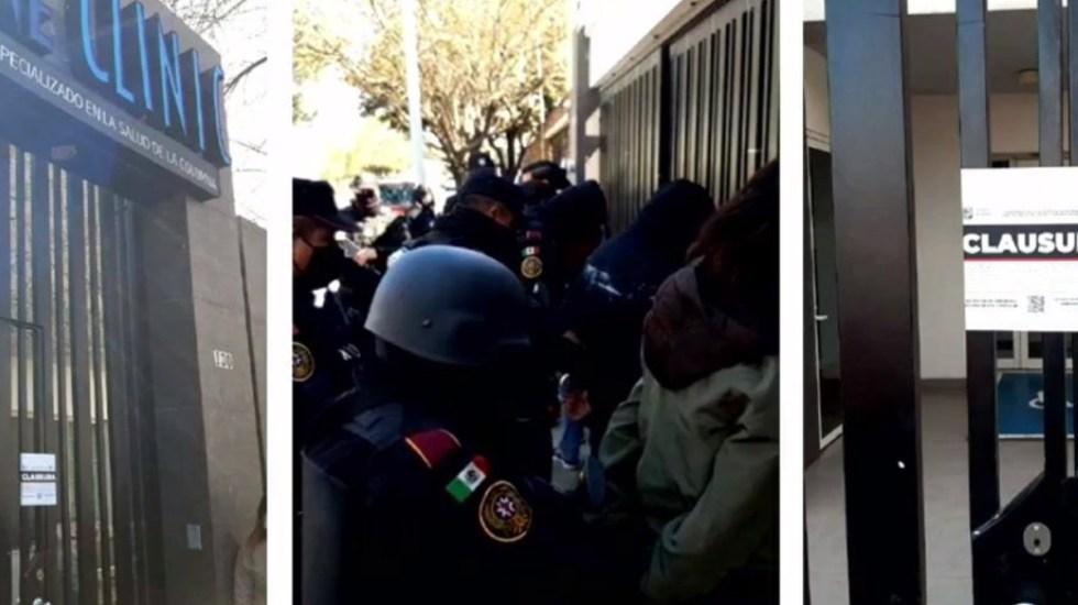 Clausuran clínica en NL por venta ilegal de supuesta vacuna contra COVID-19; valía 11 mil 100 pesos la dosis - Detención de personas por venta ilegal de vacuna contra COVID-19. Foto de Secretaría de Salud de Nuevo León