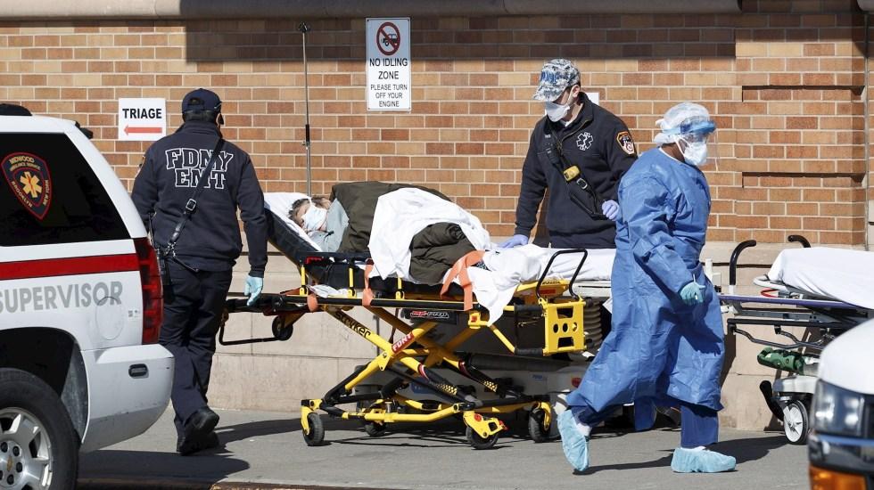 Estados Unidos rebasa las 569 mil muertes por COVID-19 - Estados Unidos COVID-19 pandemia epidemia