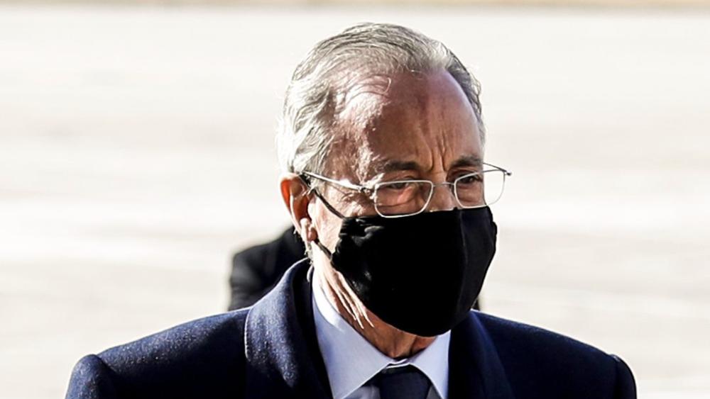 Florentino Pérez, presidente del Real Madrid, dio positivo por COVID-19 - Foto de Real Madrid