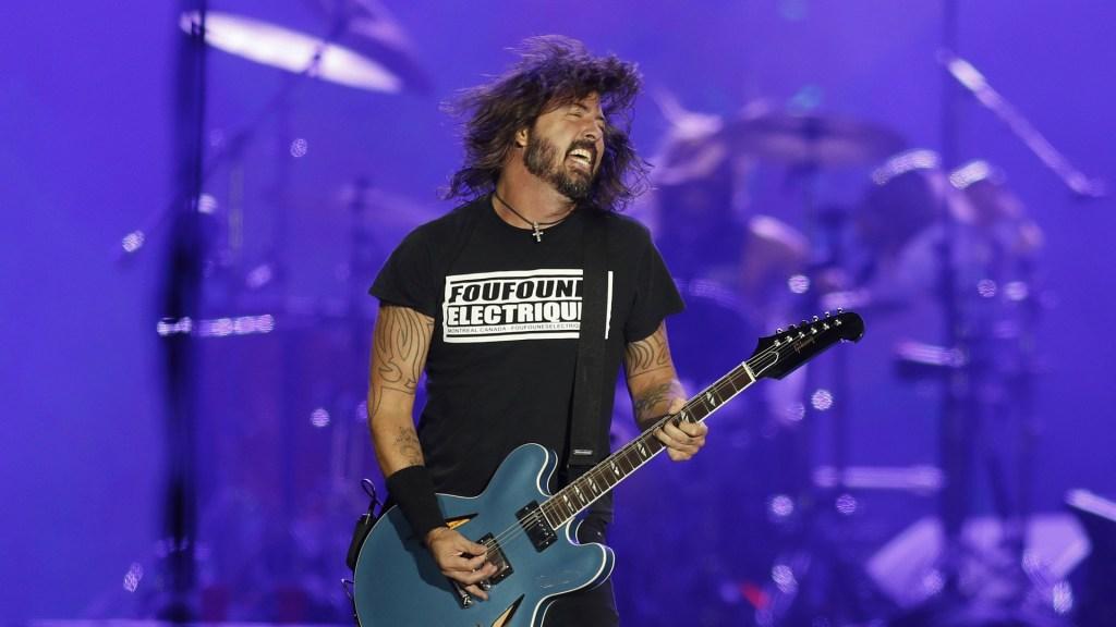 Nominan a Foo Fighters, Jay-Z y Tina Turner al Salón de la Fama del Rock - Dave Grohl de la banda estadounidense Foo Fighters. Foto de EFE