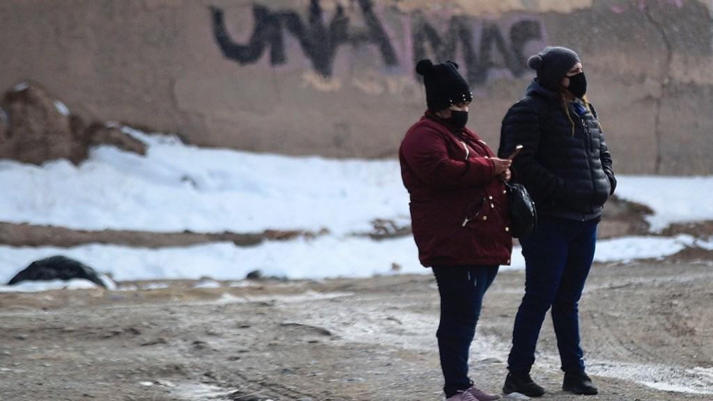 Pronostican intenso frío para este fin de semana en gran parte del país - Foto de EFE