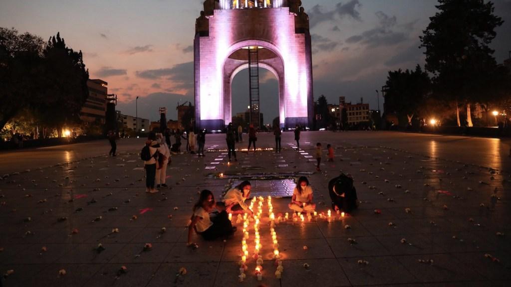 Realizan homenaje en memoria de Ingrid Escamilla a un año de su asesinato - Foto de EFE