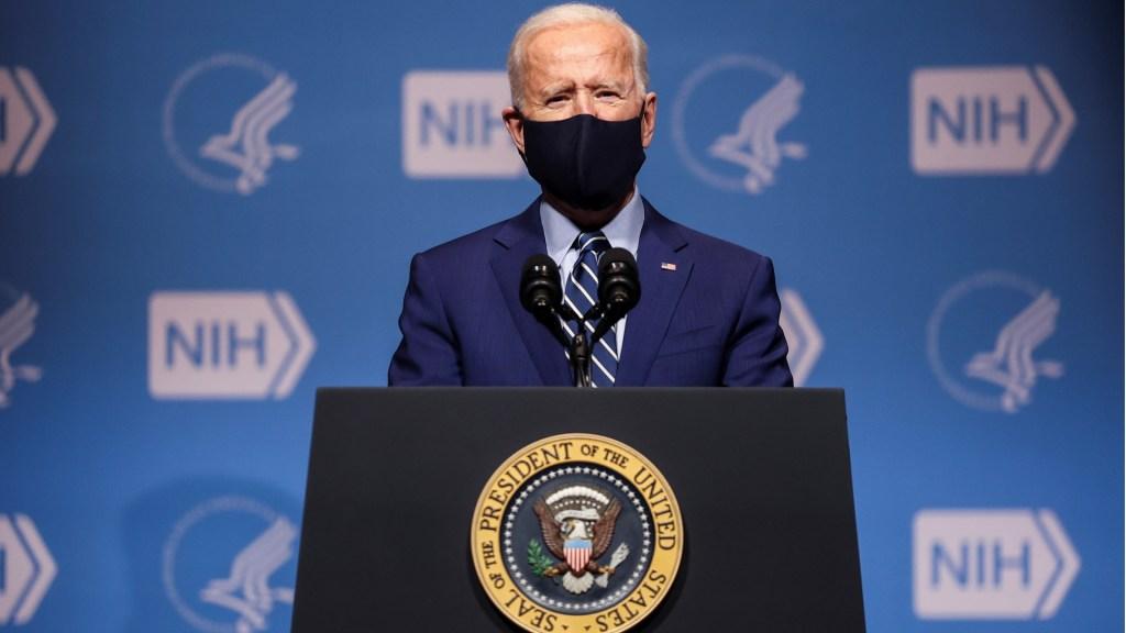 """""""Hemos comprado suficientes vacunas para inmunizar a todos los estadounidenses"""", asegura Biden - Joe Biden Estados Unidos presidente"""