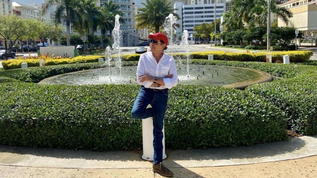'Pepillo' Origel recibe segunda dosis de vacuna contra COVID-19 en Miami - Foto de Instagram Pepillo Origel