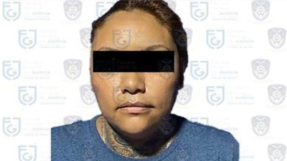 Capturan a 'La Chamaca', presunta líder de extorsionadores del Cártel de Tláhuac - Foto de FGJ CDMX
