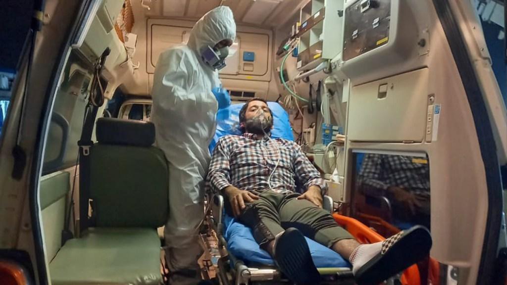 Atiende 911 de Ecuador a mexicano con insuficiencia respiratoria en alta mar - Mexicano que recibió atención médica en Ecuador por insuficiencia respiratoria. Foto de @Salud_Ec