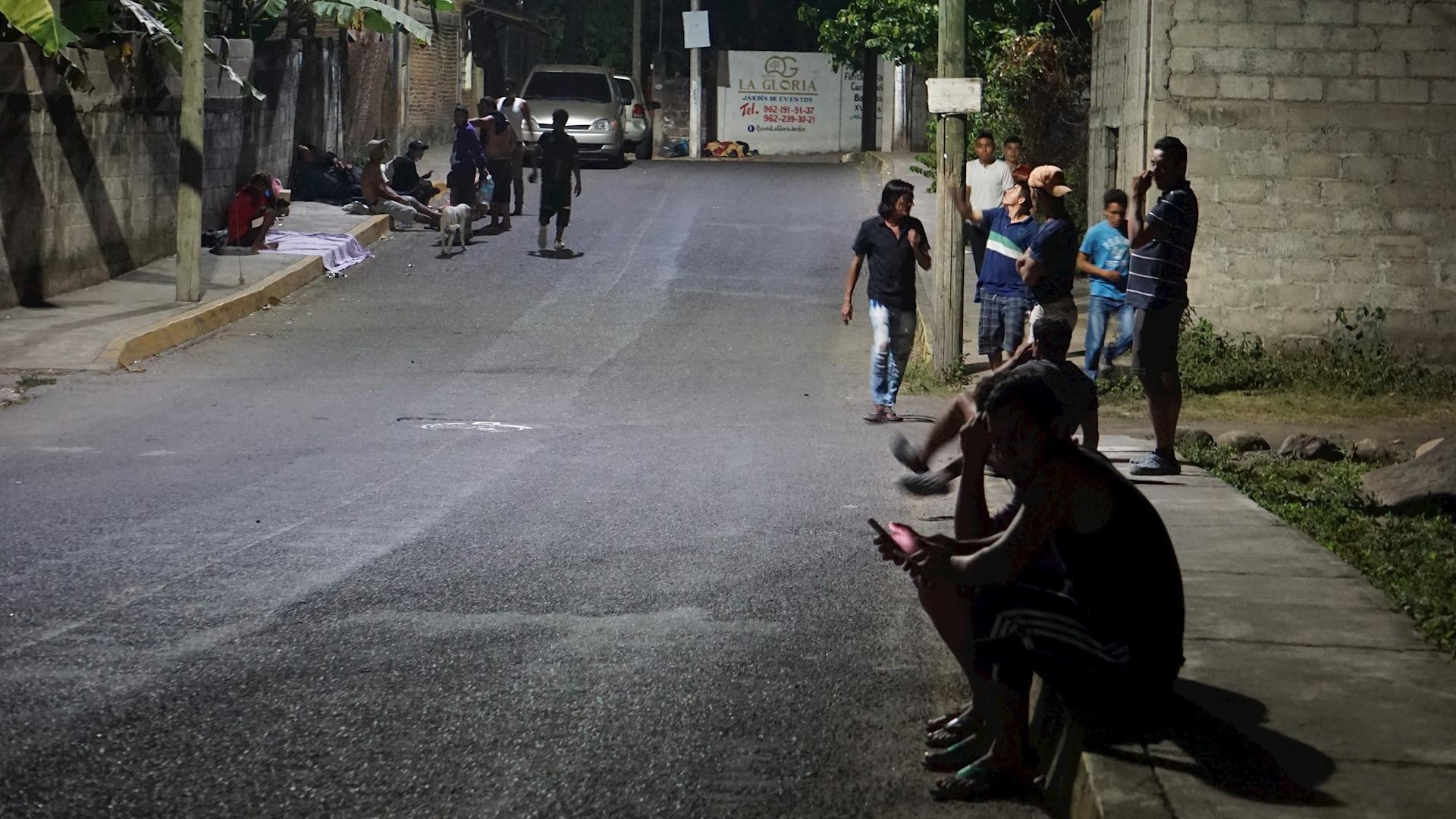Migrantes hondureños COVID-19 Chiapas pandemia 2
