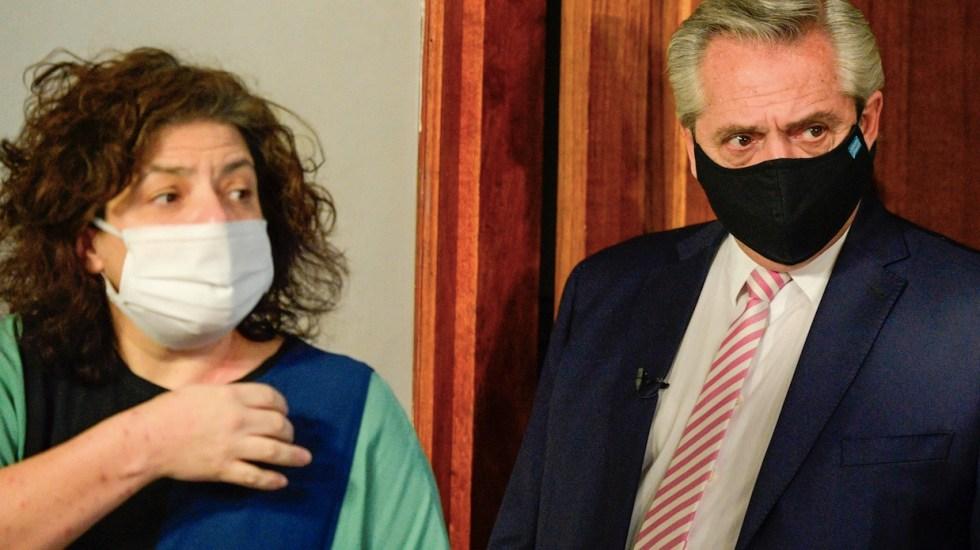 Carla Vizzotti nueva ministra de Salud de Argentina tras renuncia del anterior titular a petición del presidente - Foto de EFE