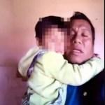 #Video Detienen a niño de cuatro años y su padre en Chiapas