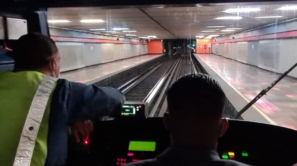 Gobierno de CDMX niega que Metro se controle con fichas de dominó - Metro