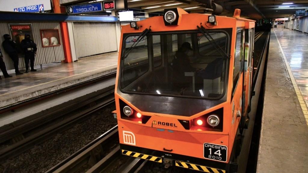 Avance para reapertura de Línea 2 del Metro va en 40 por ciento; el 8 de febrero reanudará operaciones - Foto de Twitter Metro