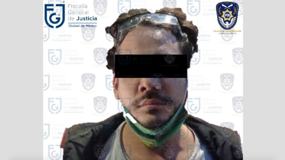 Detienen al youtuber Rix por presunto abuso sexual - Foto de FGJ CDMX