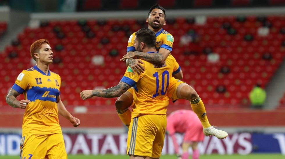 Con doblete de Gignac, Tigres avanza a semifinales del Mundial de Clubes - Foto de @TigresOficial