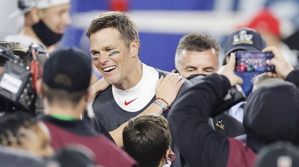Tom Brady establece marca con su quinto premio de MVP - Tom Brady. Foto de EFE/EPA/CJ GUNTHER.