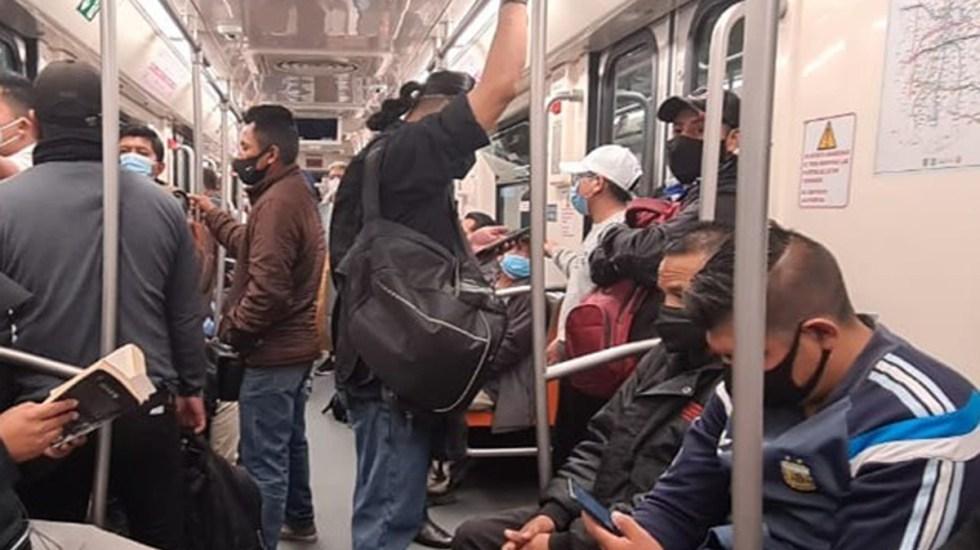 Suspenden servicio en Línea 1 del Metro por ajuste en sistema de energización - Vagón de Línea 1 del Metro. Foto de @MetroCDMX
