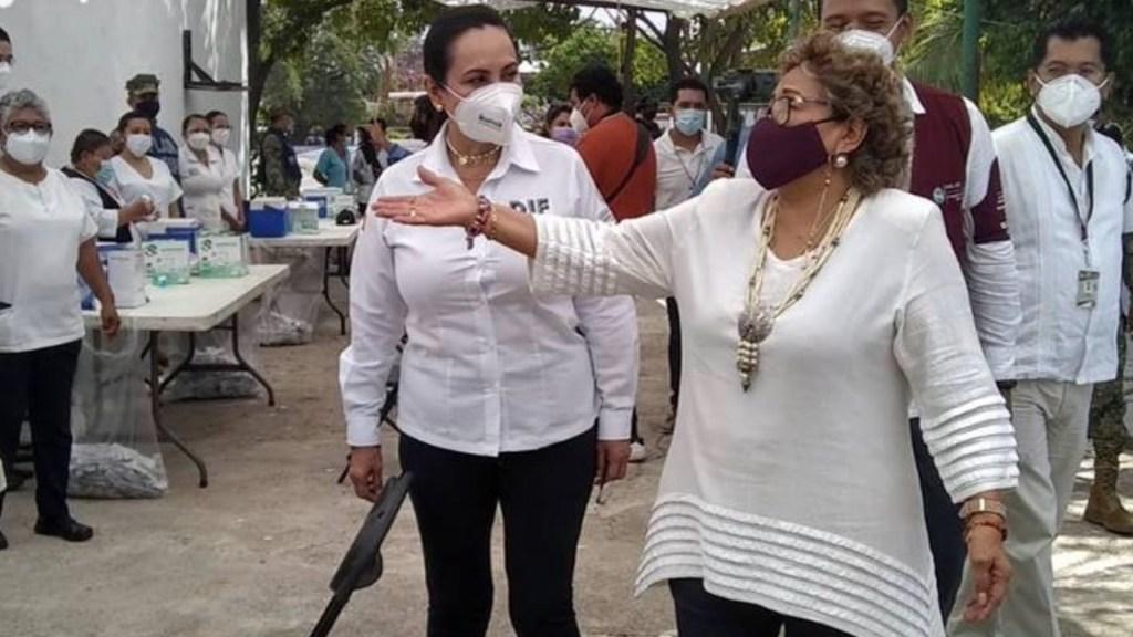 Alcaldesa de Acapulco confirma que buscará reelección… en un centro de vacunación contra COVID-19 - Foto de El Sol de Acapulco