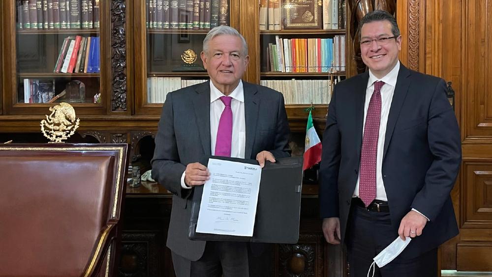 """Acuerdo Nacional por la Democracia es una """"gran contribución"""" para elecciones limpias: AMLO - Foto de lopezobrador.org.mx"""