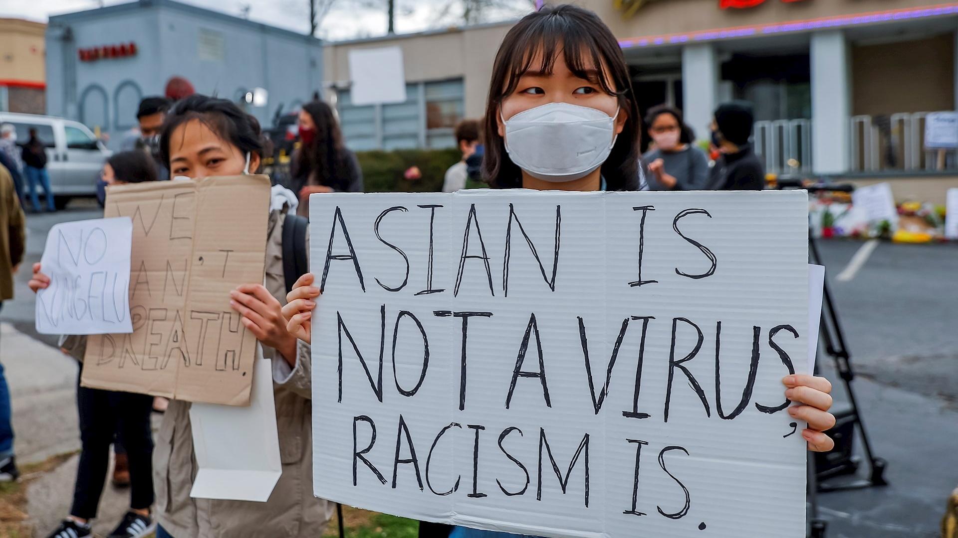 Asiáticos atlanta asiáticas odio China COVID-19 coronavirus