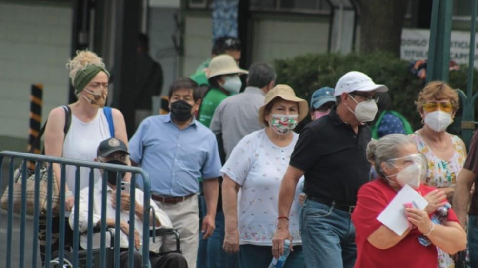 México roza las 200 mil muertes por COVID-19; en las últimas 24 horas registró 5 mil 714 casos positivos y 579 muertes - Casos de COVID-19 en México. Foto de Sedesa