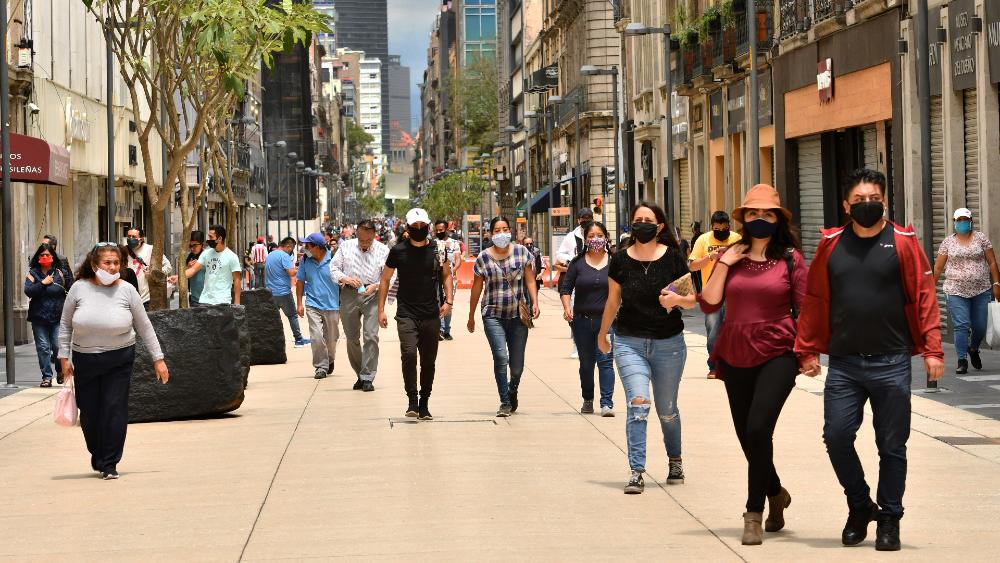Hacienda prevé crecimiento económico de 5 por ciento para México en 2021 - CDMX semáforo Centro coronavirus covid19 solidaridad