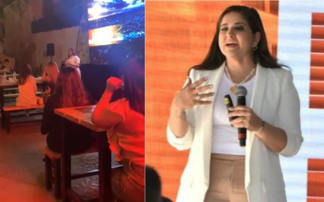 """#Video """"Abres las piernas o las cierras"""", alcaldesa de Hermosillo arremete contra mujeres que defienden el aborto - Célida López"""