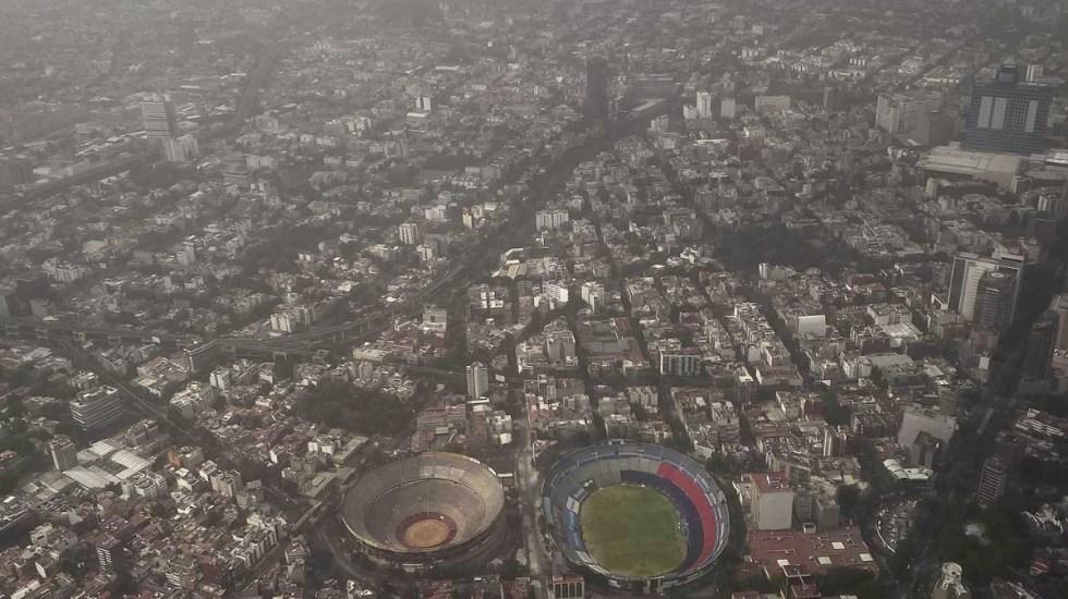 Calidad del aire en el Valle de México: extremadamente mala - Ciudad de México tolvarenas contaminación 2