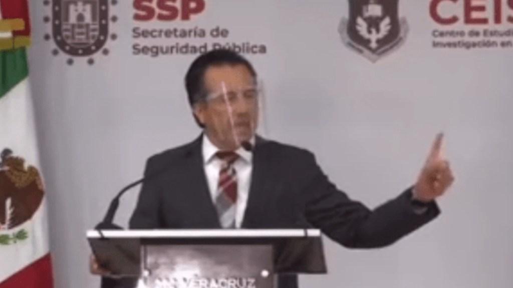 """#Video """"La ciudadanía no puede hacer más que lo que la ley les prohíbe"""", dice Cuitláhuac García - Captura de pantalla"""