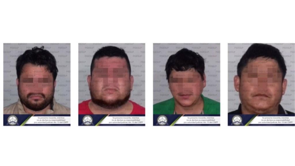 Detienen a cuatro implicados en asesinato de presidente de Coparmex en San Luis Potosí - Cuatro detenidos COparmex SLP