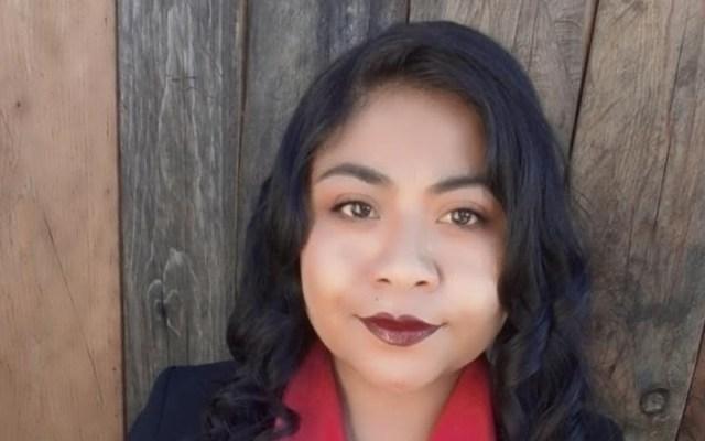 Hermana de Yalitza Aparicio se lanza como política; será candidata a diputada federal por Tlaxiaco - Edith Aparicio. Foto de @LunaEdithAparicio