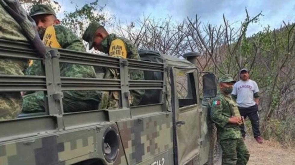 Militar que asesinó al guatemalteco Elvin Mazariegos ya está sujeto a proceso, confirma Ebrard - Militares agredieron a guatemaltecos en la frontera sur de México. Foto de El Diario de Chiapas
