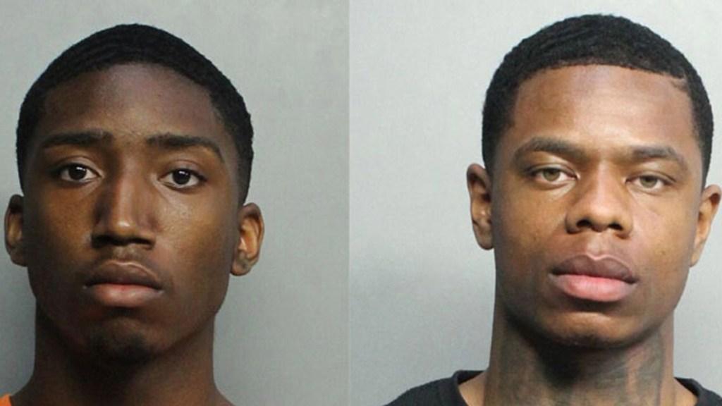Detienen en Miami Beach a turistas acusados de violar a mujer hallada muerta - Evoire Collier y Dorian Taylor, sospechosos de la violación de una mujer hallada muerta en Miami Beach. Foto de Policía de Miami