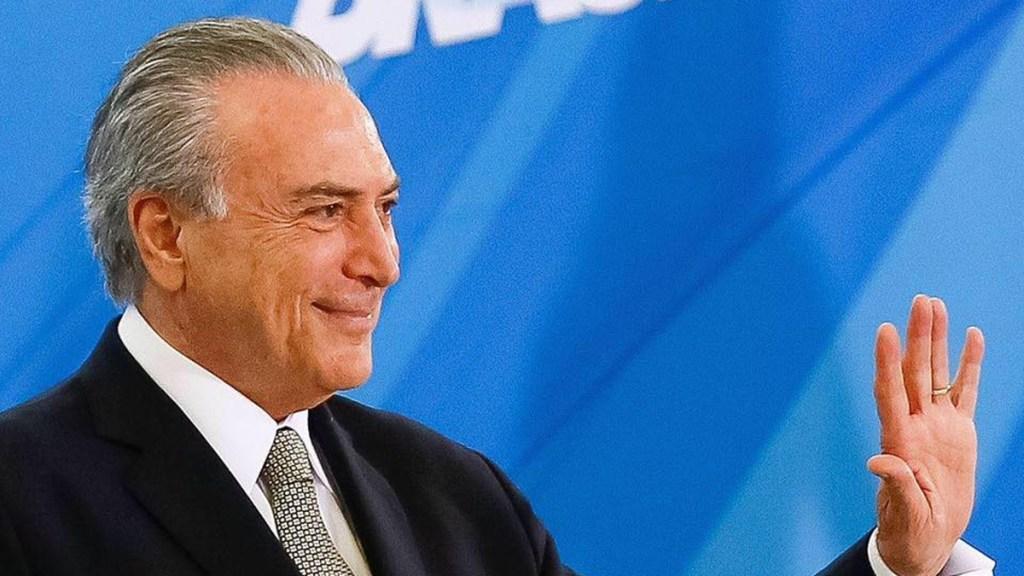 Justicia de Brasil absuelve al expresidente Temer en caso de corrupción - Expresidente de Brasil, Michel Temer. Foto de @MichelTemer
