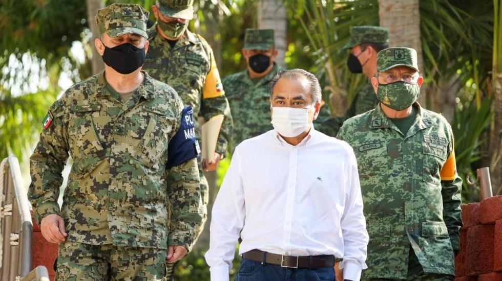 Pide Héctor Astudillo a fuerzas de seguridad respetar derechos humanos - Gobernador Astudillo Guerrero ejército