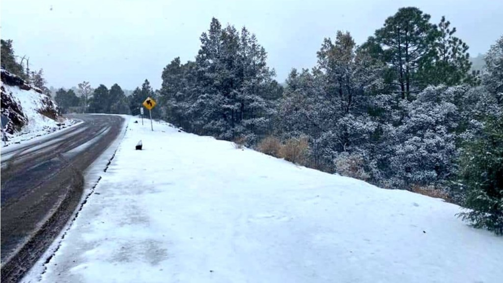 Continuarán heladas y nevadas en Chihuahua y Durango - Heladas Chihuahua Madera Frente Frío