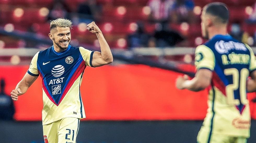 América pasa por encima de Chivas en el Clásico Nacional - Henry Martin América Club